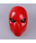 Red Hood Adult Batman Jason Todd Hush Wayne Cosplay Full Head Helmet PVC... - £33.25 GBP+