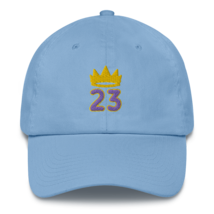King James hat / King 23 hat / 3d embroidery / basketball hat /23 Cotton Cap  image 4