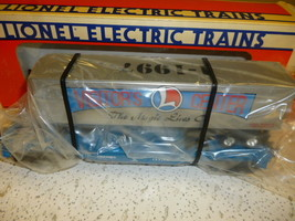 M3 LIONEL 19948 VISITOR CENTER FLAT W/TRAILER - 0/027 - MINT IN THE BOX - $30.38