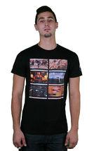 Bench Mens Fame Lime light Music Electronic Concert Video Youtube Black T-Shirt image 3