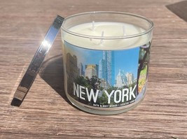 Bath & Body Works New York Rose Water & Ivy Large 3 Wick 14.5 oz Candle - $26.96