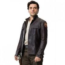 Poe Dameron Star Wars The Last Jedi Leather Jacket - $59.39+
