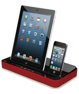 Timestec Multi-Function Docking Station Charger Speaker for iPhone 5/4/4... - $68.99