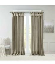 "Madison Park Emilia 50"" X 95"" Faux Silk Twisted Tab Window Panel T4101092 - $29.69"