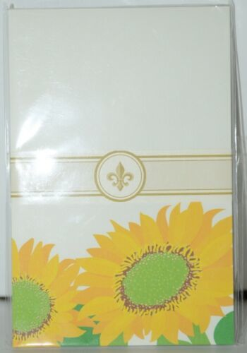 Faux Designs GP129 Sunflower Gift Notepad 50 Tear off Sheets