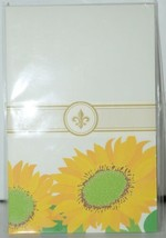Faux Designs GP129 Sunflower Gift Notepad 50 Tear off Sheets image 1