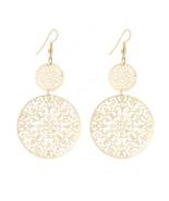 Dangle Long Earrings For Women Classic Pattern  - $9.99