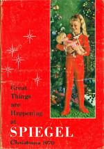 SPIEGEL  1970 CHRISTMAS BOOK Catalog  SPIEGELS  WISHBOOK - $54.45