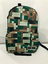 SPACE JUNK BACKPACK BOOK BAG LOGO MOTIF NWT WITH LUNCH BAG :B19-7 - $30.00