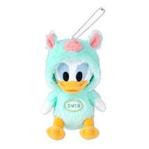 Donald Duck Plush Doll Badge 2019 New Year Tokyo Disney Limited Japan - $129.02