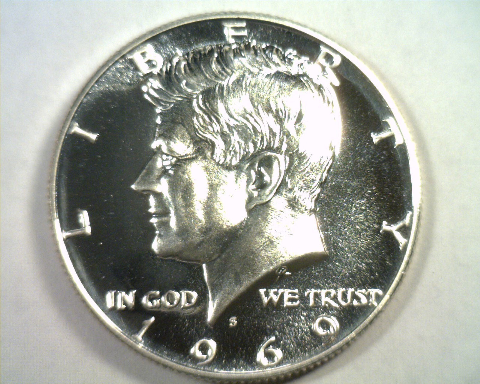 Primary image for 1969-S KENNEDY HALF DOLLAR SUPERB PROOF CAMEO SUPERB PR CAM NICE ORIGINAL COIN