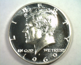 1969-S Kennedy Half Dollar Superb Proof Cameo Superb Pr Cam Nice Original Coin - $24.00