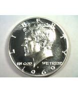 1969-S KENNEDY HALF DOLLAR SUPERB PROOF CAMEO SUPERB PR CAM NICE ORIGINA... - $24.00