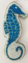 "Seas & Greetings Beaded Jeweled 6"" Seahorse Nautical Christmas Ornament ... - $19.79"