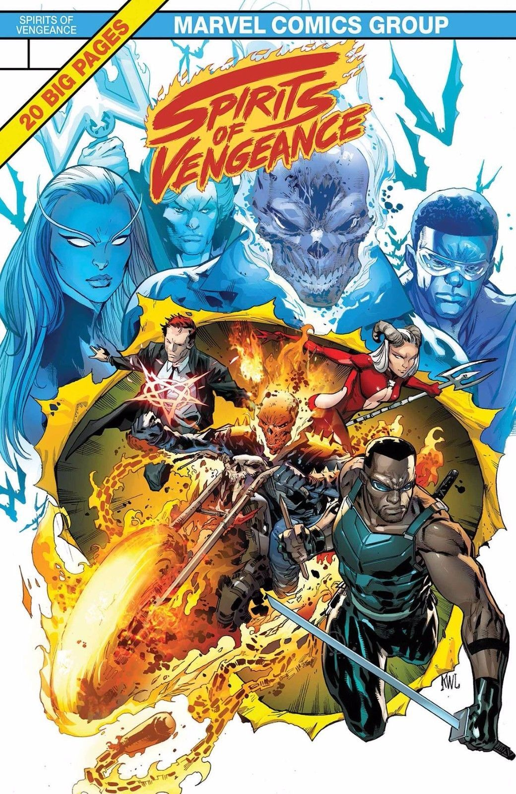 SPIRITS OF VENGEANCE #1 VAR LEG MARVEL 10/04/2017