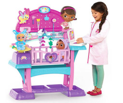 Doc McStuffins Baby Checkup Nursery All in One Nursery Lights And Sounds... - $179.91