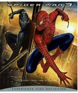 Spider-Man 3 (2007) Blu-ray, 1080p, Special 2 Disc Edition - $9.99
