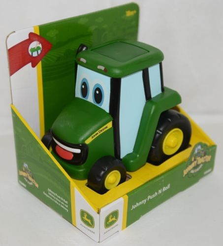 John Deere LP67305 Johnny Tractor Push And Roll Toy 18 Months