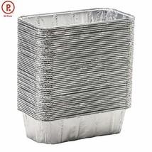 """pinkada Loaf Pans - Disposable Aluminum Foil 2 Lb Pans, Size 8.5"""" X 4.5""""... - $22.69"""