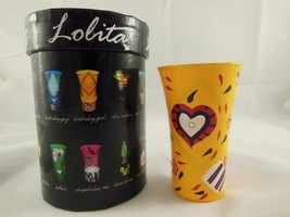 New in box Lolita Hand Painted Party Shots 2 oz. Shot Glass  Lolita with Recipe  - $9.89