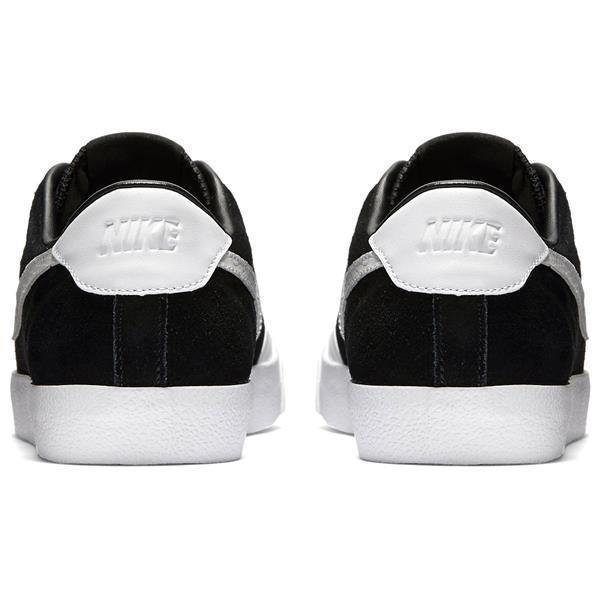 reputable site 6212b 1dece Nike Zoom All Court CK QS Mens Size 11.5 Black White Skateboarding Shoes