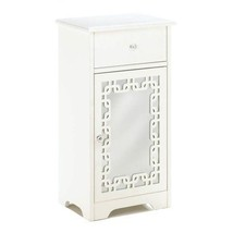 Accent Table Decor, Decorative Mirror Patio End Modern Indoor Accent Sid... - $125.52