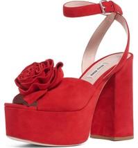 Miu Miu Flower Platform Sandals Size 36.5 MSRP: $950.00 - $569.25