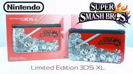 Nintendo 3DS XL Red Super Smash Bros Limited Edition Game Console - $209.99
