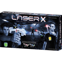 Laser X 88016 Laser Tag Two Player Real life Set Toy - $54.44