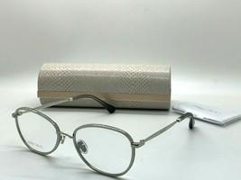 Jimmy Choo Eyeglasses Jc 229 YB7 Silver 54-18-145MM Italy Case& Cloth - $77.57