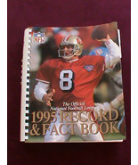 1995 Official NFL Records & Fact Book Steve Young Cover NRMT 448 Pages C... - $24.75