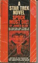 Star Trek Spock Must Die 9th Print ORIGINAL Vintage 1972 Paperback Book - $12.86