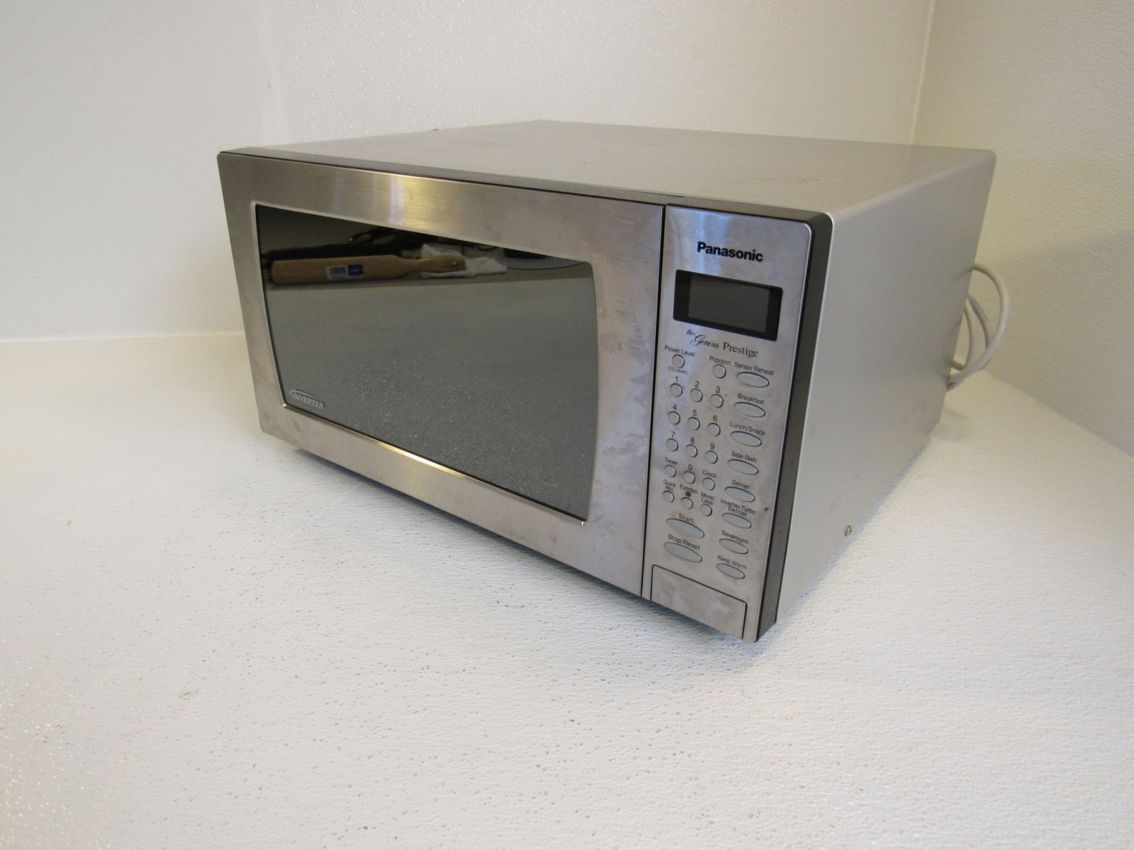 Panasonic Countertop Turntable Microwave Oven U2 Stainless 1250W NN-SN797S