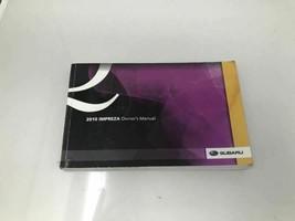 2010 Subaru Impreza Owners Manual Case Handbook OEM Z0P16 - $28.79