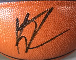 STEPH CURRY & KLAY THOMPSON / DUAL AUTOGRAPHED NBA LOGO FULL SIZE BASKETBALL COA image 3