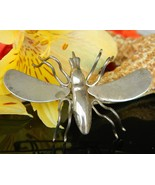 Vintage Sterling Silver Insect Bug Brooch Pin Taxco Mexico TG 189  - $32.95