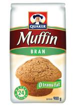 6 Bags Of Quaker Bran Muffin Mix 900 G Per Bag - $64.07