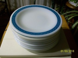 10#    Vintage Corning Decor Pyrex Bread and Butter Plate - $9.20