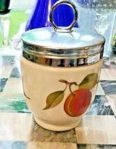 Vintage Royal Worcester Evesham Egg Coddler - Discontinued Pattern - $9.85