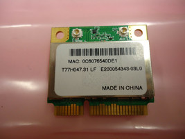 Acer AR5B93 Aspire One 532h 5534 Atheros 802.11 bgn Wireless PCI-E Card New - $6.92