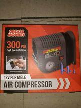 12V Car Tire Pump HEAVY DUTY Portable Air Compressor Inf - $16.99