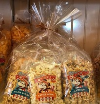Disney Parks Main Street Flavored Popcorn Variety Pack Set of 6 New and ... - $38.78