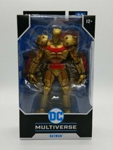 McFarlane DC Multiverse Batman Hellbat Lunar New Year Edition Gold Suit ... - $49.38
