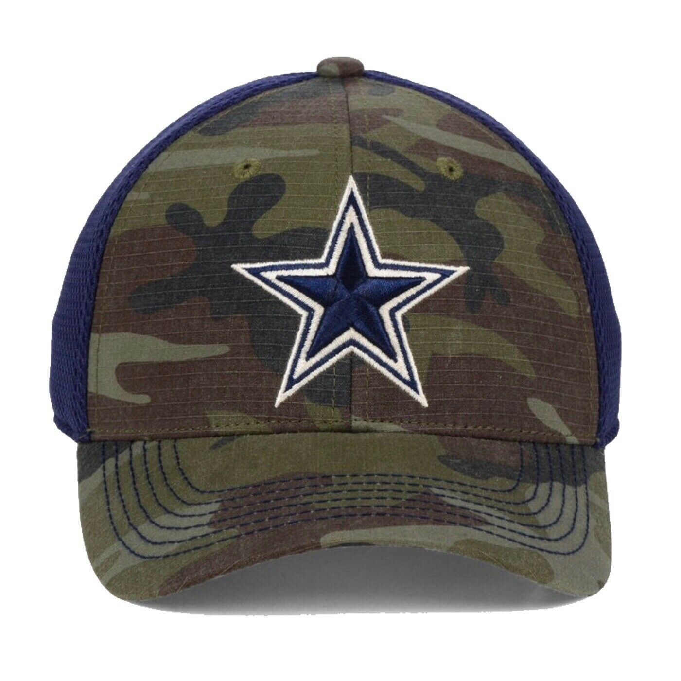 Dallas Cowboys NFL DCM Grunt Camouflage L/XL Flexfit Fitted Cap Hat $30