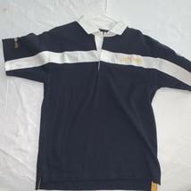 Cutty Sark Blended Scotch Whisky Quba Sails Mens Navy Polo Shirt Size XS - $14.25