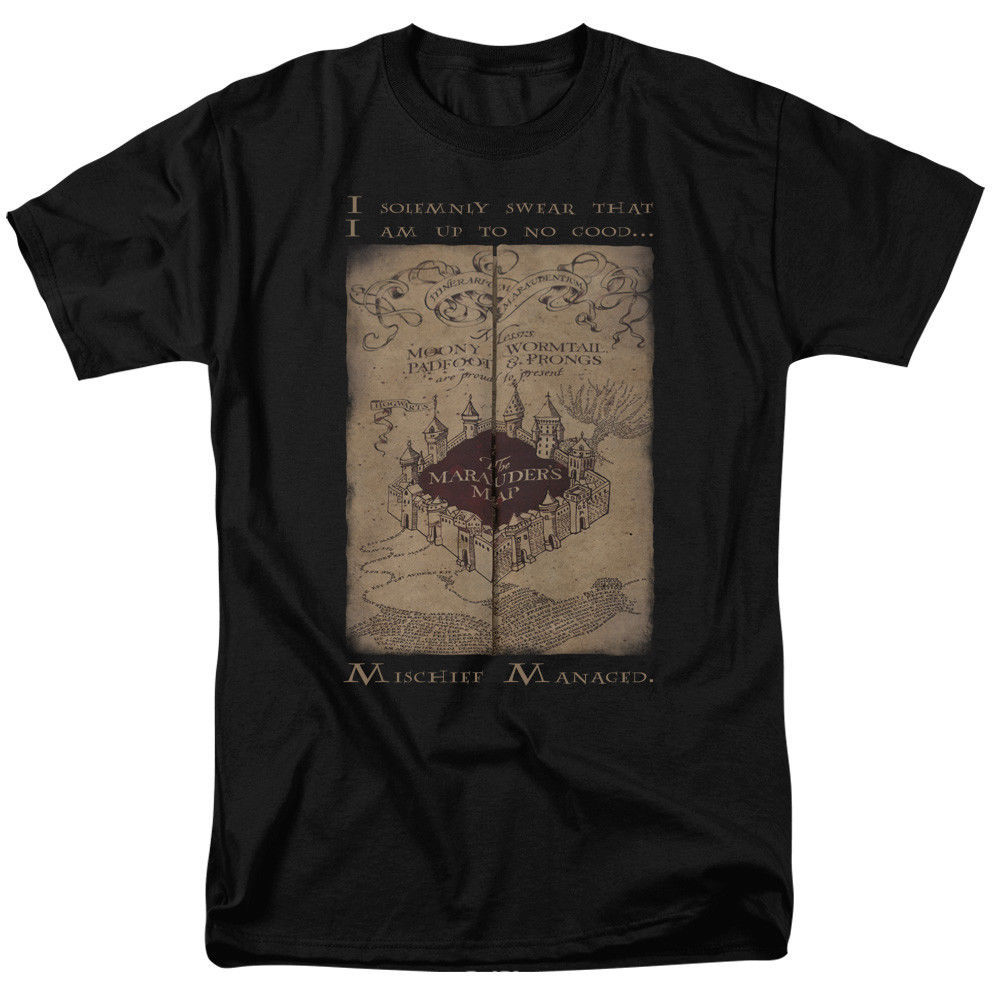 Primary image for Authentic Harry Potter Movie I Solemnly Swear T-shirt S M L X 2X 3X 4X 5X top