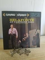 HARRY BELAFONTE AT CARNEGIE HALL 2 Vinyl LP Record Album RCA LSO-6006  - $14.01