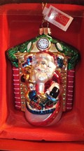 Waterford Marquis Fireside Santa Ornament New # 155185 - $27.72