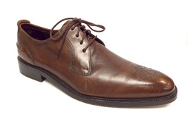 COLE HAAN Size 10 Brown Leather Medallion Toe Oxfords Shoes - $57.60