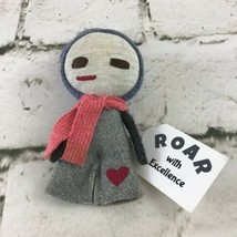 "Roar With Excellence 4"" Rag Doll Mini Plush Soft Collectible Winter Love Wins - $14.84"